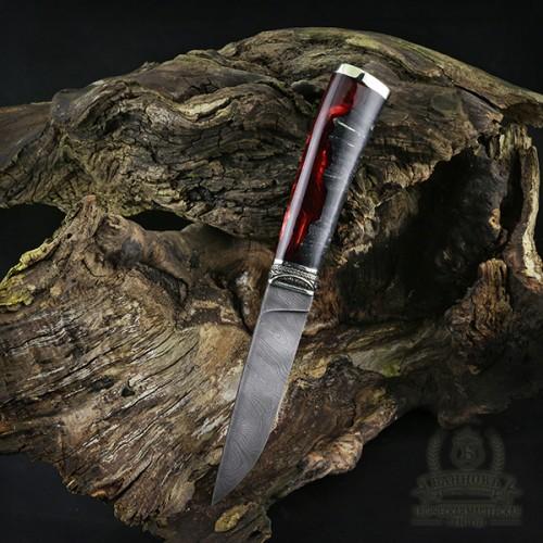 """Нож """"Правый"""" дамасская сталь"""