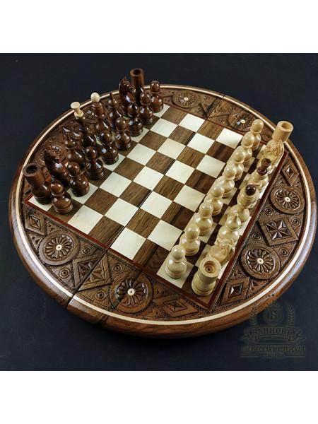 Шахматы подарочные деревянные ручной работы