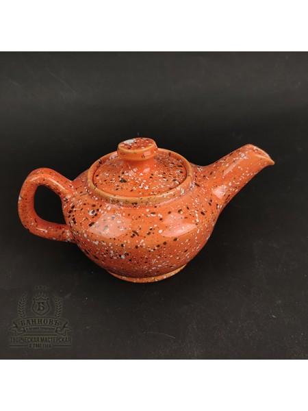 "Заварочный чайник ""Галактика"", оранжевый (350 мл)"